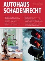 Sonderheft in AUTOHAUS SchadenBusiness mit ... - Rechtsanwälte
