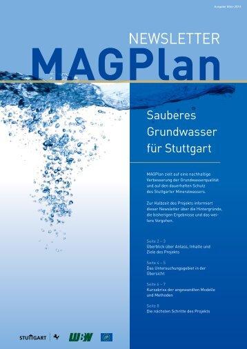 MAGPlan-Newsletter März 2013
