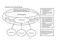 Gremien der Schulentwicklung Schulleitung/AL - Berufliche Schulen ...