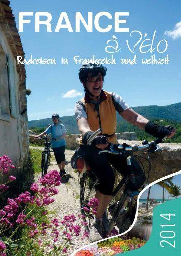aktuellen Katalog 2014 - France à Vélo