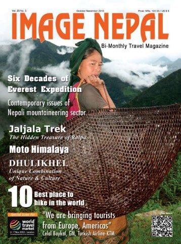 October November 2013 • IMAGE NEPAL 1