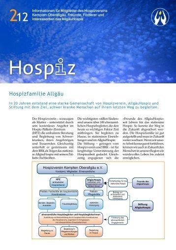 Hospiz-Infobrief 2/2012 - Allgäu Hospiz