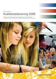 Kvalitetsredovisning 2009 - Norrköpings kommun