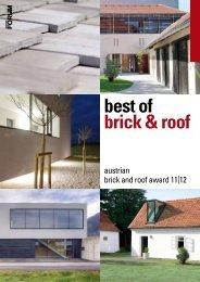 Austrian Brick and Roof Award 11/12 - Wienerberger