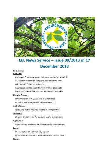 Issue 2013/09 PDF Version - TMC Asser Instituut