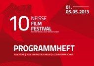 Programmheft 2013 (PDF) - Neiße Filmfestival