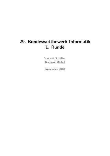 Einsendung als PDF - Raphael Michel