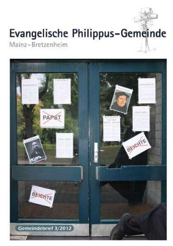 3/2012 - in der Ev. Philippus-Gemeinde Mainz