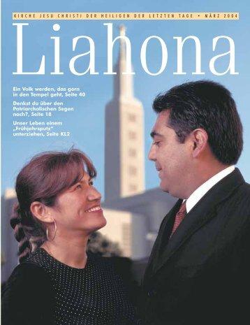 März 2004 Liahona
