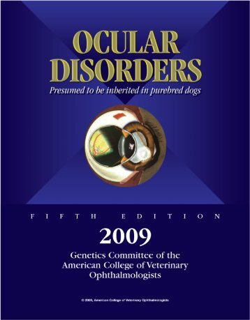 Ocular Disorders, Proven Or Presumed To Be ...   Animal Eye Care  Presumed Ocular Histoplasmosis