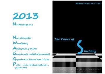 Katalog 2013 Niederfrequenz (PDF) - Ecologa