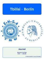 Journal - Heinrich - Humboldt-Universität zu Berlin