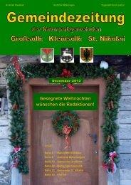 Unsere Gemeindezeitung (.pdf) - Gemeinde Großsölk