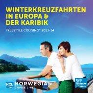 Norwegian Cruise Line - Terra Schiffsreisen