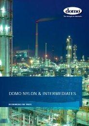 Download der Broschüre 2013 im PDF Format - Domo Chemicals