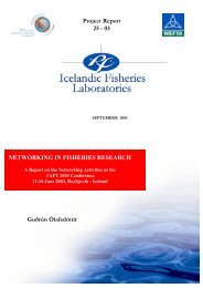 Networking in Fisheries Research.pdf - Nordic Innovation