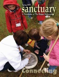 Spring 2010 Sanctuary Newsletter - The Ridges Sanctuary