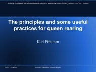 The principles and some useful practices for queen rearing - Eesti ...