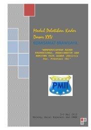 Modul Pelatihan Kader Dasar XXIV - pmii komisariat brawijaya