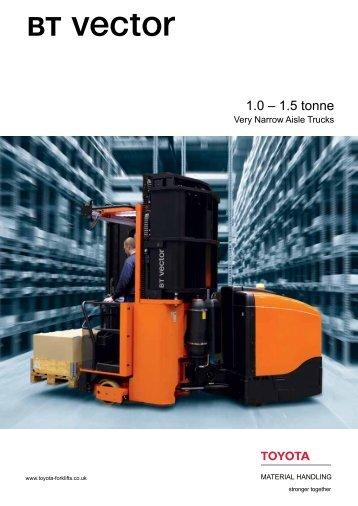 BT Vector brochure - Toyota Material Handling UK