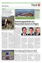 """Das """"Kasplatzl"""" in Aschau lädt zum Besuch ein - Tiroler Bauernbund"""
