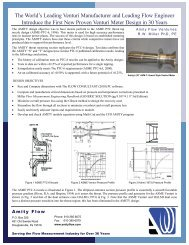 AMITY Venturies - RWMiller and Associates, Inc. Flow Measurement ...