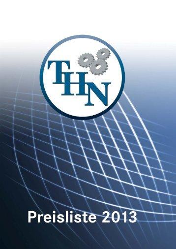Preisliste 2013 - TH-Niess