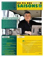 Fil Des Saisons #43 Printemps 2013 - Comptoir Agricole