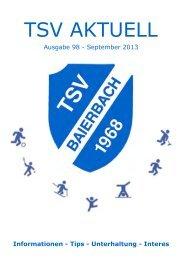 TSV AKTUELL - TSV Baierbach