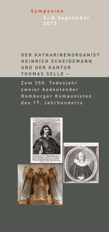 Programm (PDF) - Hamburg, Museum für Hamburgische Geschichte