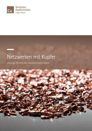 Netzwerken mit Kupfer - über Kupfer