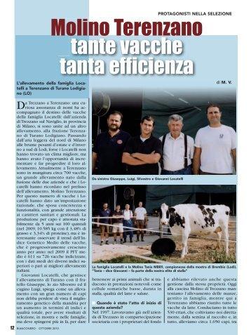 Molino Terenzano tante vacche tanta efficienza - Anafi