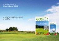 Download der Mediadaten 2014 als PDF - GOLF Regional