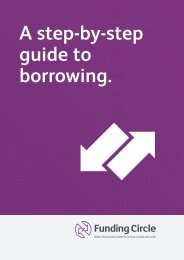 A step-by-step guide to borrowing. - Funding Circle