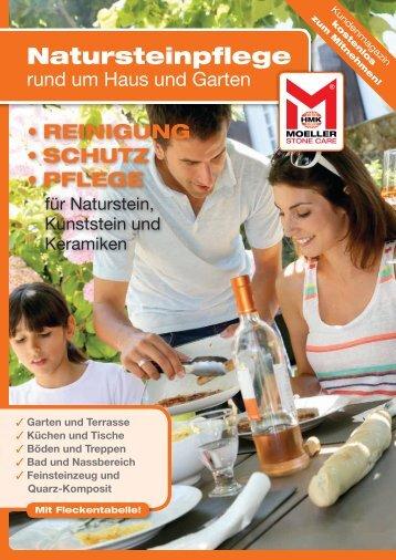 """Kundenmagazin """"Natursteinpflege rund um Haus und Garten"""""""