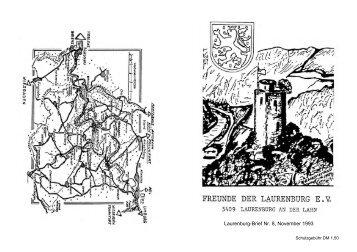 Laurenburg-Brief 8 (1993) - Heimatverein Laurenburg