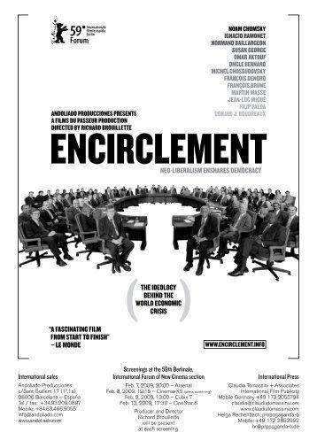 "nEo-libErAlism EnsnArEs dEmocrAcy ""A fAscinAting ... - Encirclement"