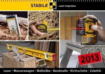 STABILA Katalog