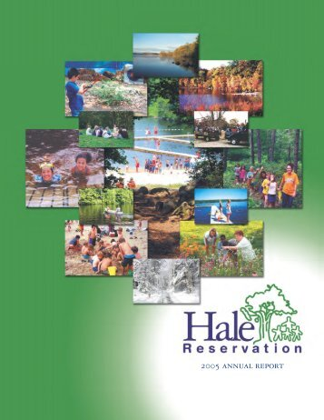 Annual Report 2005 - hale ar 05 - Hale Reservation