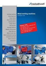 Metal working machines - WIRTECH