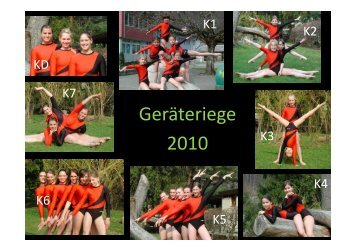 Jahresbericht 2010 - Turnende Vereine Steckborn