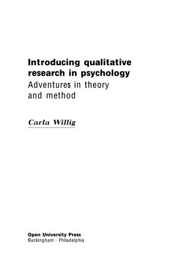 Adventures in theory and method