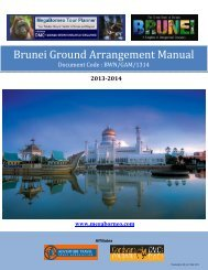 Brunei Ground Arrangement Manual - eibtm