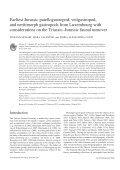 Earliest Jurassic Patellogastropod, Vetigastropod, and ... - CDAM - Page 2