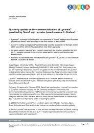 24-13_1030 - Lyxumia Q3 2013 update ... - GlobeNewswire