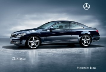 CL-Klasse. - Mercedes-Benz