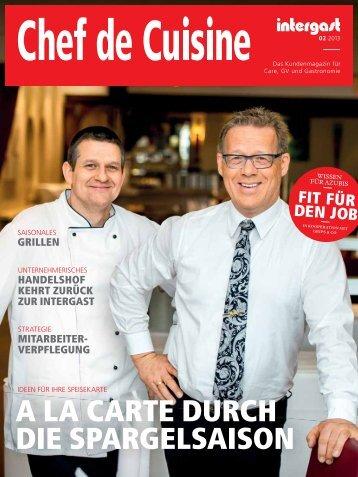 Chef de Cuisine 02 2013 - Intergast