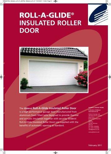 Rollaglide Insulated Roller Door Brochure - Best Choice Garage ...