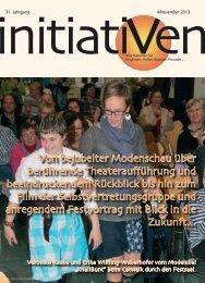Initiativen 4/November 2013 - Verein Initiativ