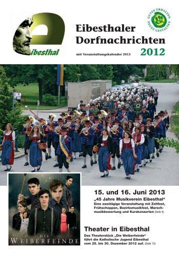 2012 Eibesthaler Dorfnachrichten